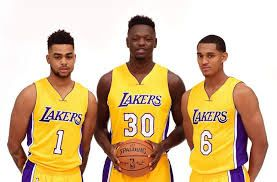 Image result for la lakers 2017 updated roster