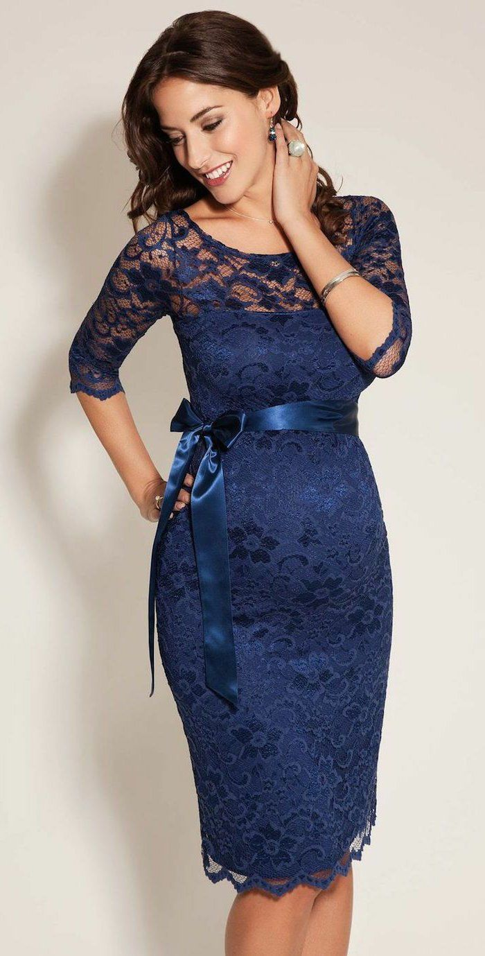 genial langes abendkleid für schwangere | maternity dresses