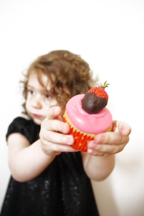 cherry cherie strawberry's cupcake