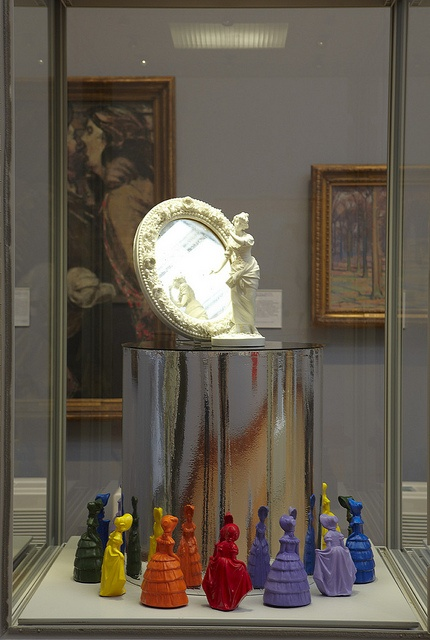 Objects from the Queering the Museum exhibition - artist and curator Matt Smith.