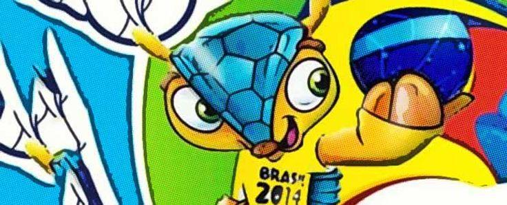 Nombre y características de la mascota del mundial Brasil 2014  http://www.infotopo.com/esparcimiento/deportes-juegos/mascota-del-mundial-brasil-2014/
