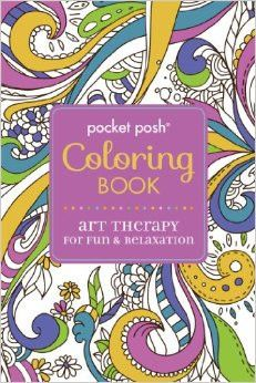 Pocket Posh Coloring Book: Art Therapy for Fun & Relaxation