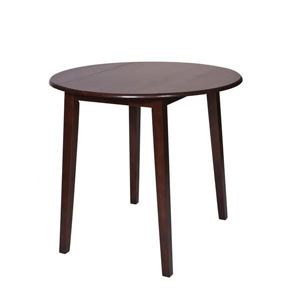 When looking for a sturdy table to place in your home, bigger isn't always better. The OSP Designs Westbrook Pub Table is the perfect combination of style and functionality with an extremely attractive wooden amaretto finish and circular top. This timeless aesthetic, that matches virtually any decor, can be dressed up or down with simple accessories such as placemats, tablecloths or a stylish centerpiece.