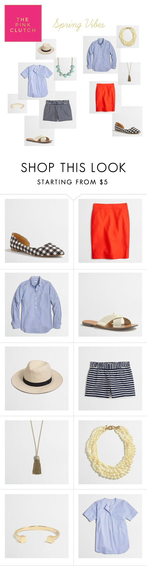 Spring Vibes with JCrew Factory by paige-schrank-minear on Polyvore featuring J.Crew, women's clothing, women's fashion, women, female, woman, misses and juniors