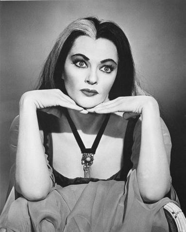 "Yvonne De Carlo as Lily Munster on the TV series ""The Munsters"""