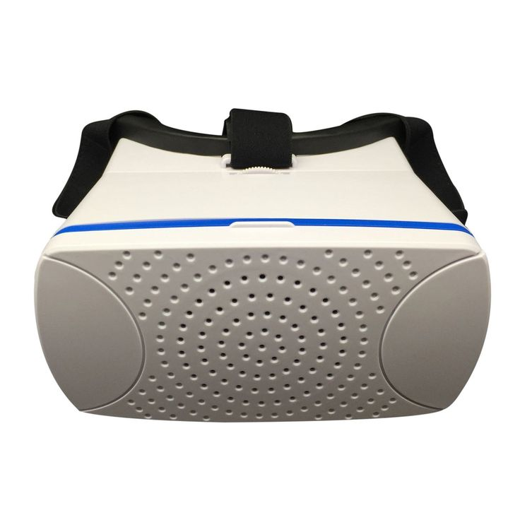 X-Vista Virtual Reality 3D Glasses Cardboard Movie Game for iPhone IOS Android (White)