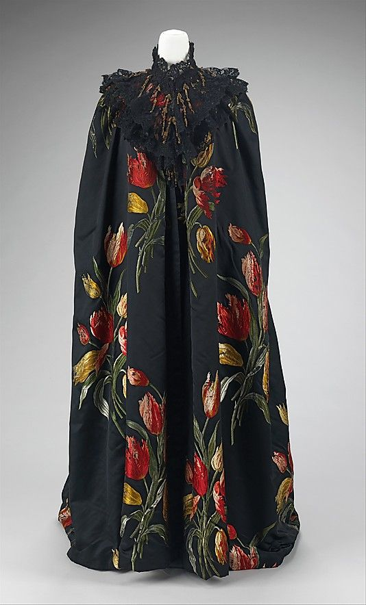 "The Metropolitan Museum of Art - ""Tulipes Hollandaises"" (textile), House of Worth , French 1858-1956"