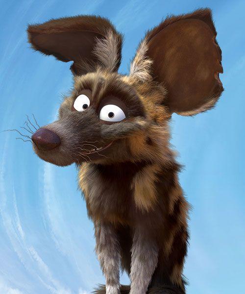 Skalk voiced by Steve Buscemi. #Khumba