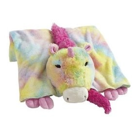 My Pillow Pets Premium Rainbow Unicorn Blanket  Order at http://amzn.com/dp/B007GO0W2Y/?tag=trendjogja-20