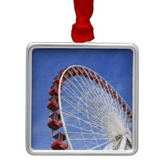 Chicago Christmas Ornament Ferris Wheel