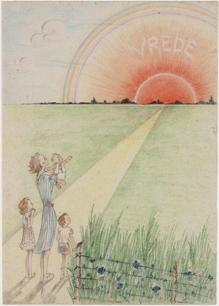 Peace by Joke Broekema, 1942-1945. Museon, CC BY