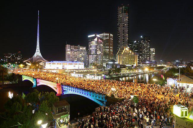 Melbourne - White Night