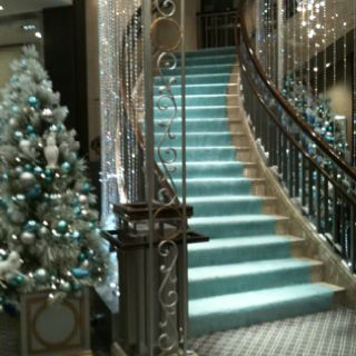 The gorgeous staircase at the Tiffany's in New York. I've got a 'thing' for…