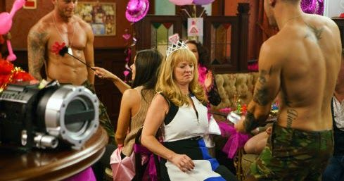 Corrie spoilers: Strippers, Drag Queens and Van Crash