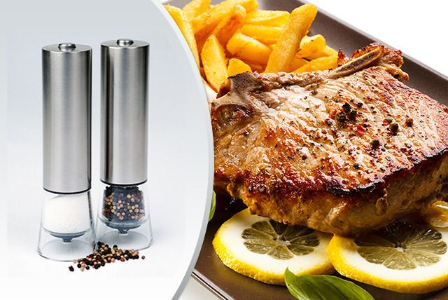 One-Touch Electronic Salt / Pepper Mill