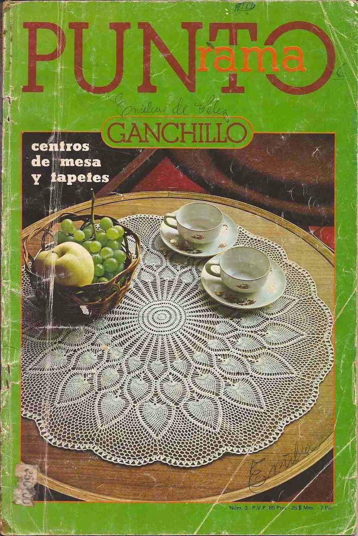 R4 Punto Rama Gachillo - Centros de Mesa y Tapetes ~ Creaciones Tejidas