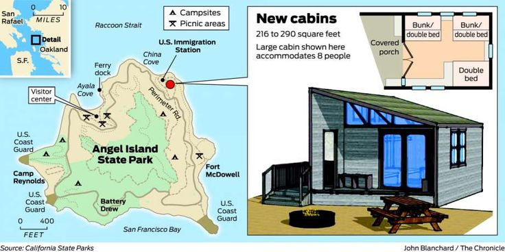 As camping 'glamping,' rugged Angel Island to add