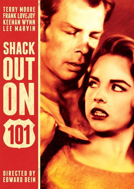 MGM movie posters 1955   SHACK OUT ON 101  1956    Terry Moore  pictured    Frank Lovejoy