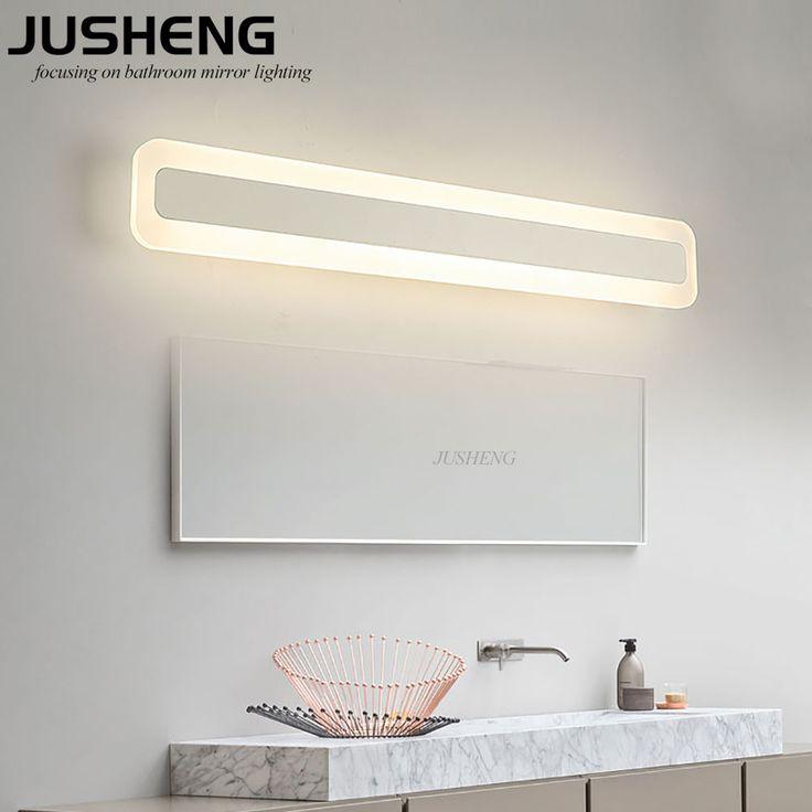 2017 New Desige 14W Modern Acrylic Indoor Led Mirror Lamp Wall Mounted Bathroom Light