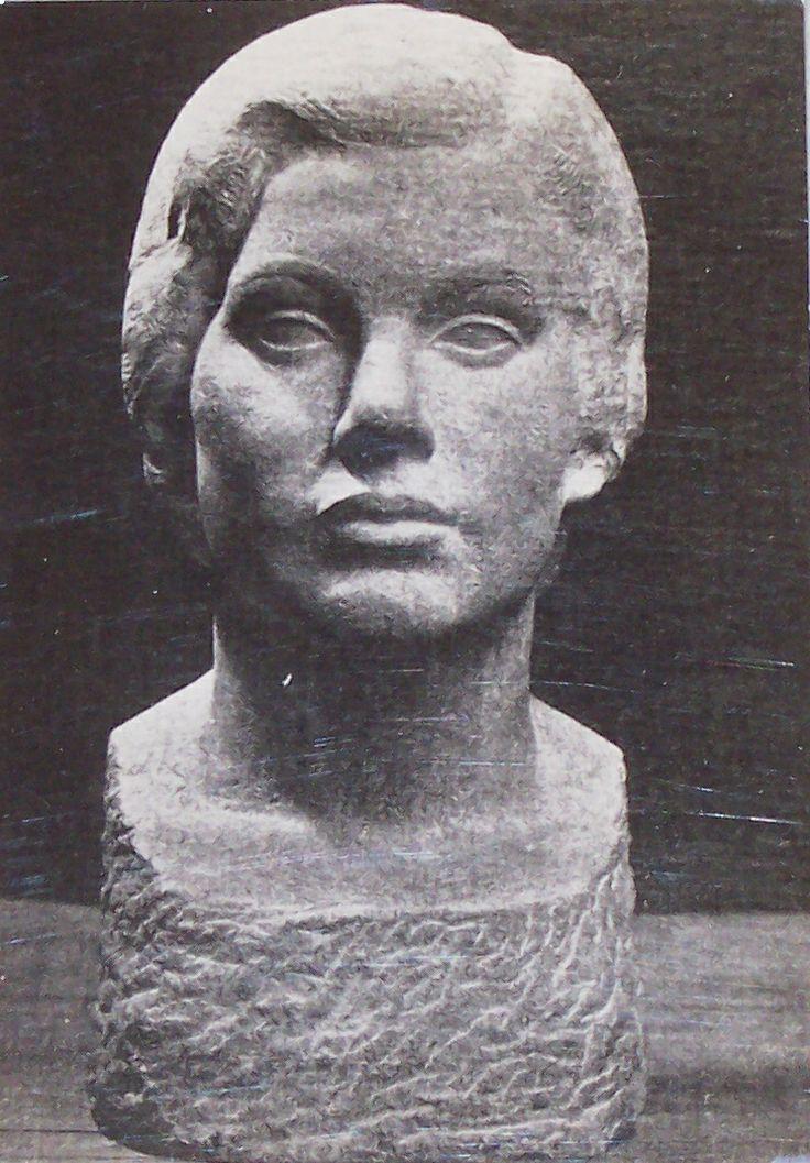 Stone sculpture by Harry E. Stinson