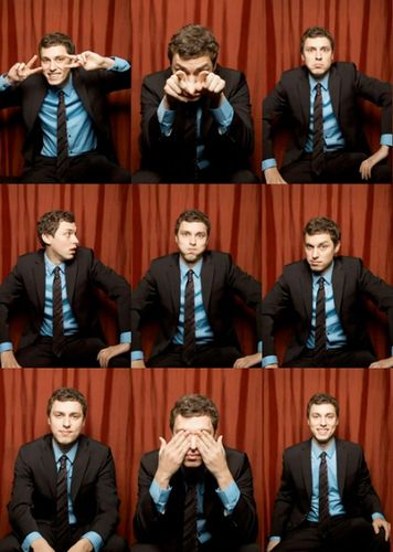 John Francis Daley. I know he is a dork. But I just can't get over it. Totally adorbs!