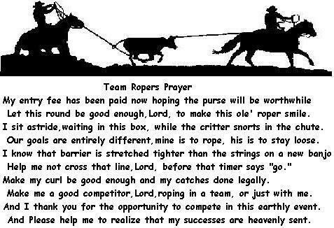 Team Roping- with God all things are possible!