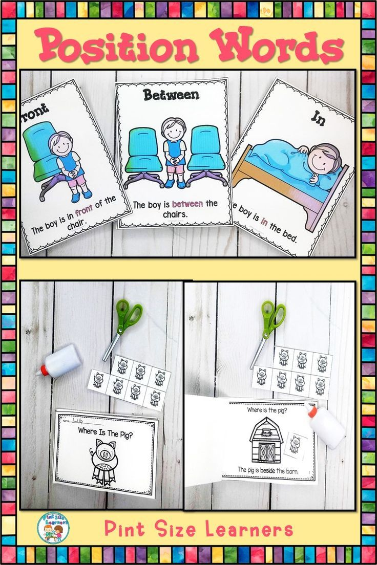 Position Words Tell Us Where Things Are Help Your Pk And Kindergarten Students Understanding Of Th Positional Words Activities Word Activities Position Words [ 1104 x 736 Pixel ]