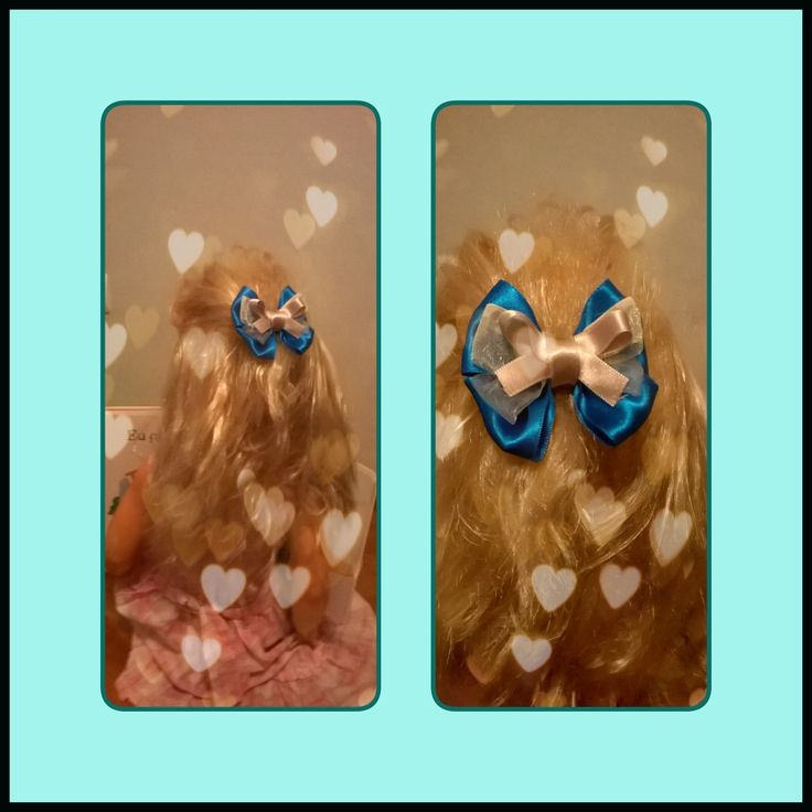 Classic bow hair clip Diy