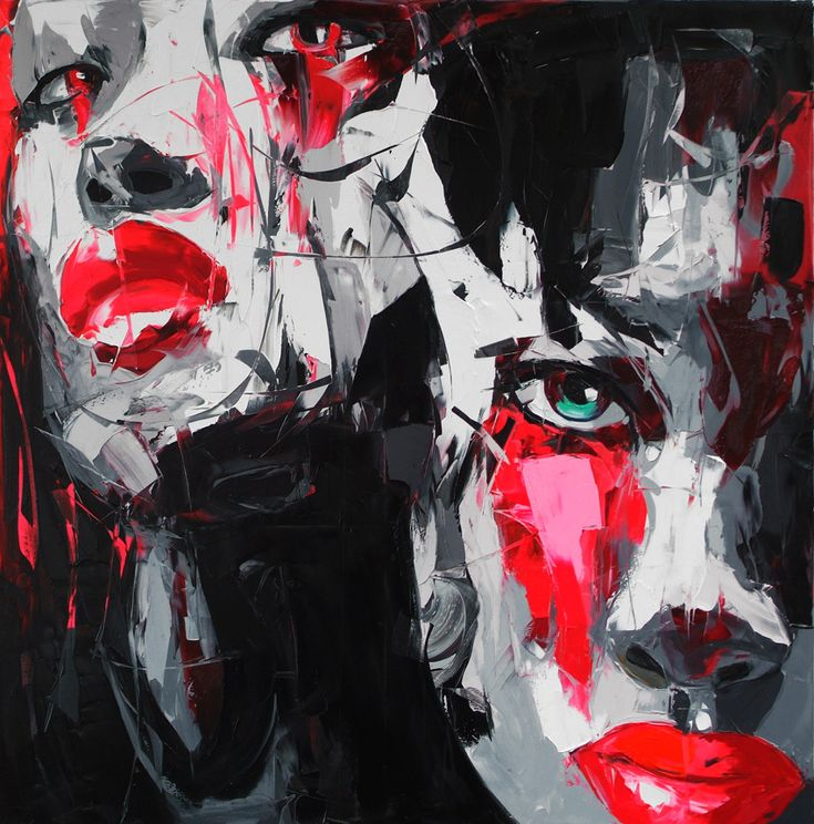 noir et blanc by NIELLY FRANCOISE, via Behance
