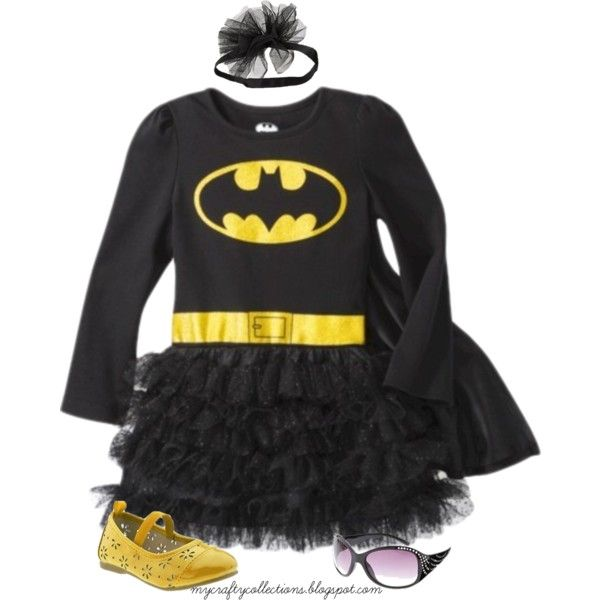 Toddler Girl's Outfit: Bat-Girl!, created by angiejane on Polyvore