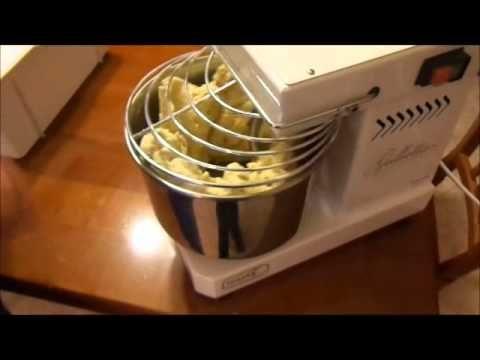 Impastatrice a spirale Grilletta Famag- Ricetta pane casereccio