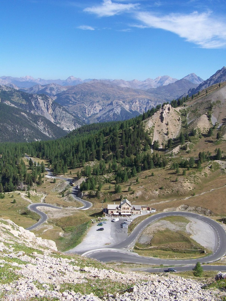 Les Alpes : col d'Izoard - heartbreak hill!