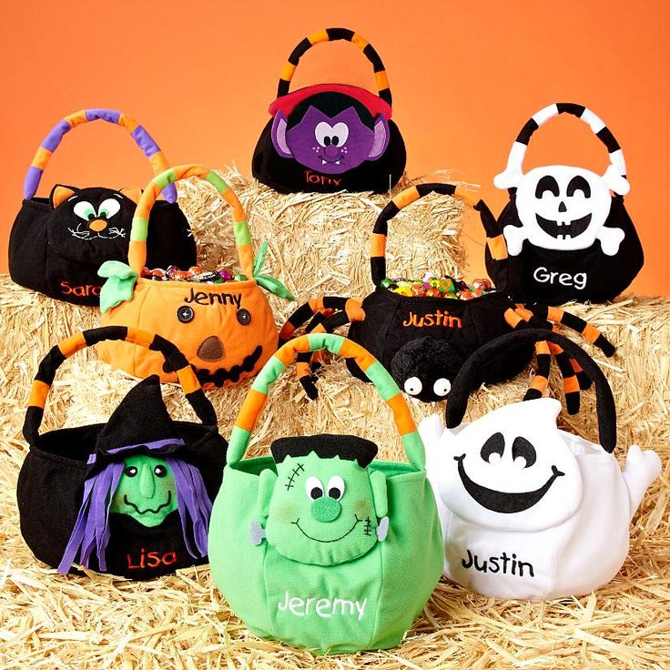 These bags make me want to trick or treat!
