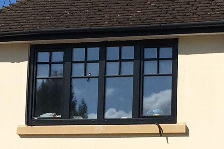 Contemporary Internorm KF200 Home Pure Aluminium Clad Tilt & Turn Windows, Uxbridge, London