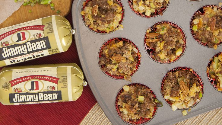 Sausage Cornbread Stuffing with Jimmy Dean® Sausage