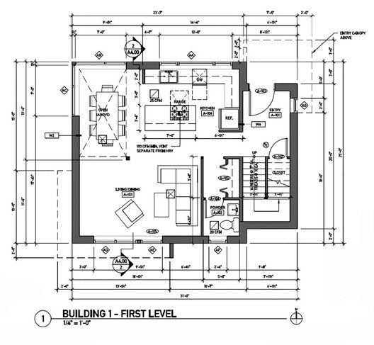 Building First Floor Plan