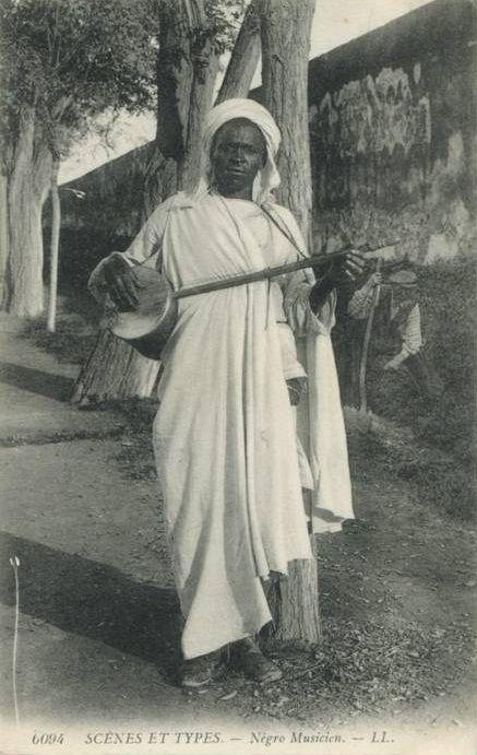 Gnawa Musician Of Morocco.