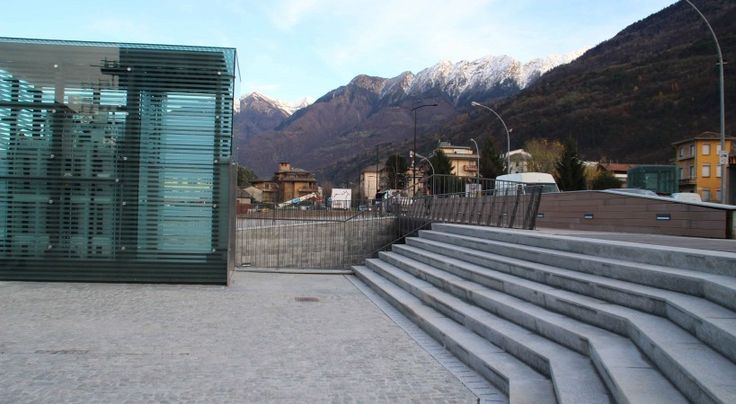 Realizzazioni - Appia Antica srlMorbegno - Ex-MartinelliEx-Martinelli — MORBEGNO — 2007- Integrated Intervention programme for the former Martinelli area in Morbegno (Sondrio, Italy)