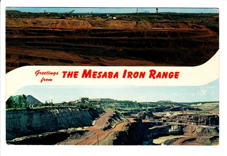 Mesaba Iron Range in Northeastern Minnesota