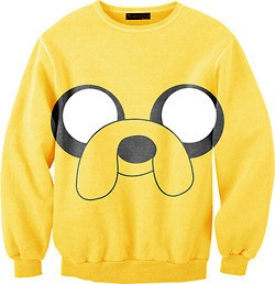 Adventure time crewneck sweaters...totally buying this for my best friend(: