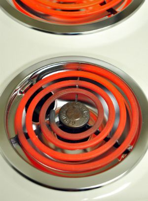 how to clean stain on stove top