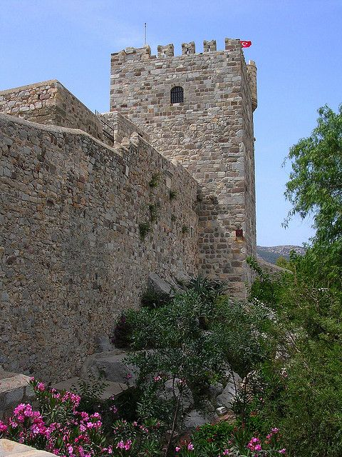 The Castle of St Peter - Bodrum, Turkey