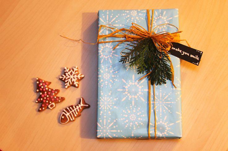 packaging, DIY, twig, Czech Christmas cookies - cukroví