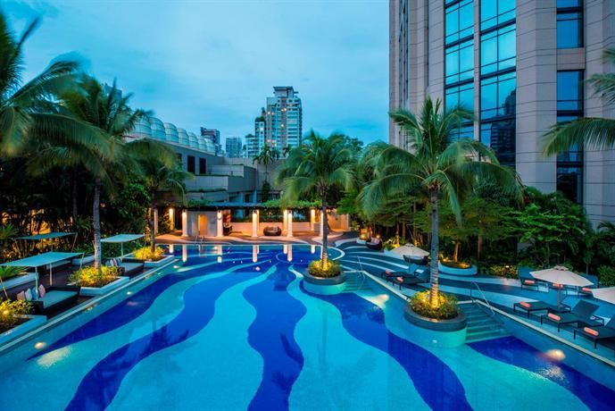 OopsnewsHotels - Emporium Suites by Chatrium. Showcasing impressive views of Bangkok, this 5-star hotel is minutes on foot from Phrom Phong BTS Skytrain Station. It also provides free Wi-Fi, a sauna and a kids pool.