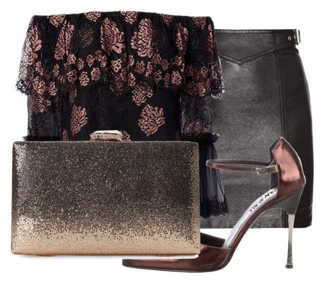 Night Dream by elf-islm on Polyvore featuring Alexis, Yves Saint Laurent and Gucci