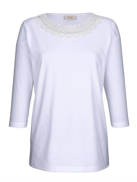 Shirt with lace application  – Products