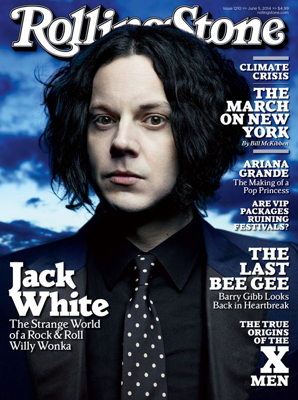Jack White's Private World: Inside Rolling Stone's New Issue A rare invitation into the mysterious world of rock & roll's Willy Wonka.