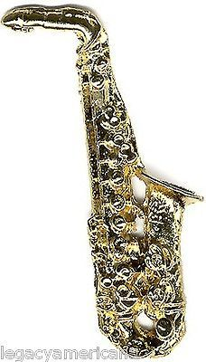Bill Clinton: 1992 Bill Clinton Saxophone Campaign Lapel Pin (1593) BUY IT NOW ONLY: $3.95