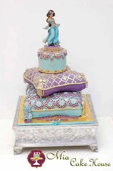 Princess Jazmine Aladdin Cake