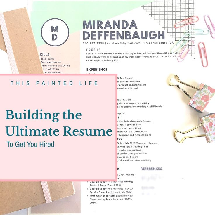 160 Best Resume Tips, Tricks, Templates Images On Pinterest